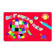 Petit Jour Paris - Mes 1er crayons de couleur Elmer