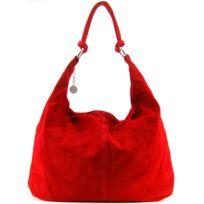 Oh My Bag - Sac à main en cuir nubuck - Porté main et épaule - Cuir italien Modèle Love