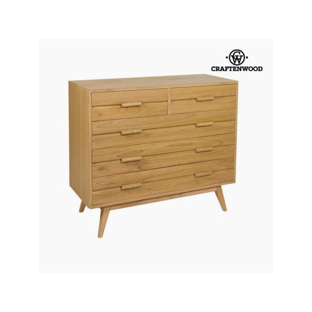 Craften Wood Commode Bois mindi 100 x 40 x 86 cm Collection Chocolate by Craftenwood