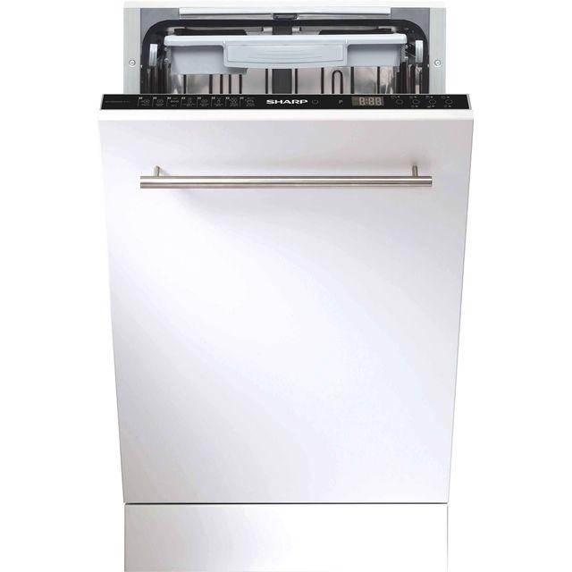 sharp lave vaisselle 45cm 10c 44db a tout int grable qwgs53i443x achat lave vaisselle a. Black Bedroom Furniture Sets. Home Design Ideas