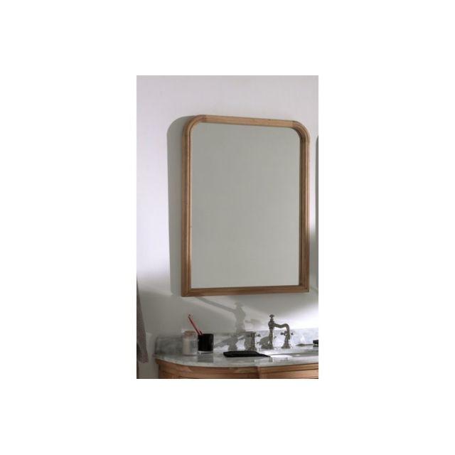 HELLIN Miroir simple en chêne Clémence