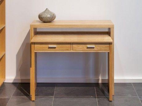 bureau console achat vente de bureau pas cher. Black Bedroom Furniture Sets. Home Design Ideas