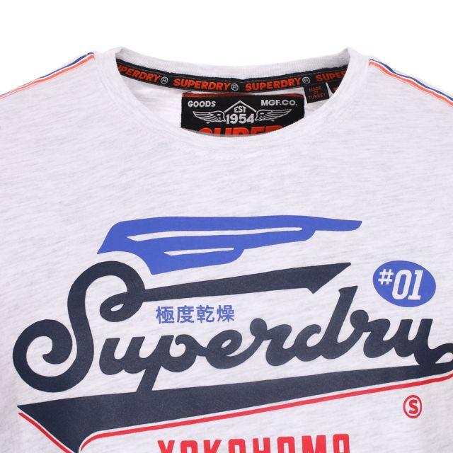 Sweat Shirt Superdry Premium Star Bleu Chine Homme