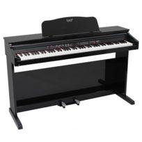 Bird - Pianos Numériques Dp1 Laque Noir Avec Banquette Pianos Numériques Meubles