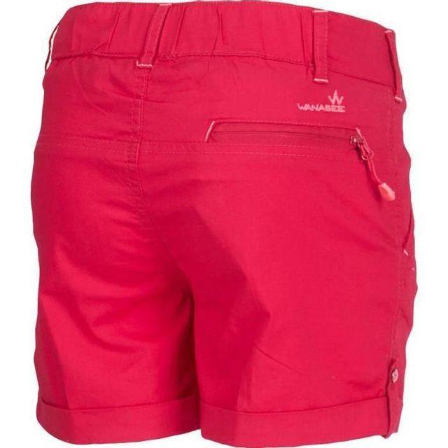 d0a4122ea0e568 Wanabee - Short fille - Framboise - pas cher Achat / Vente Short de ...