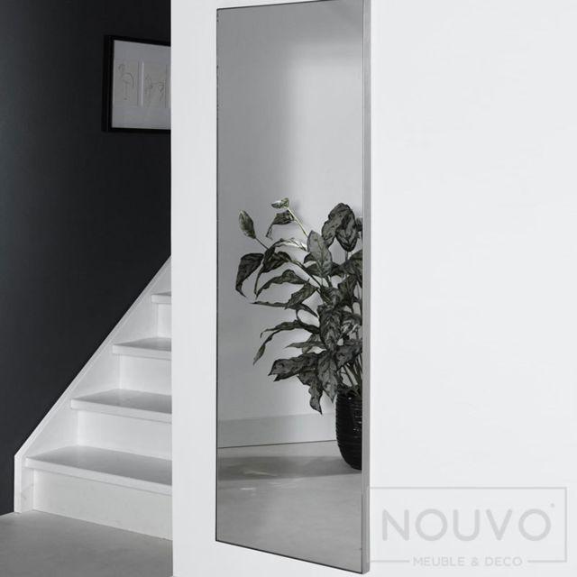 Nouvomeuble Miroir rectangulaire design 2 tailles Aloha