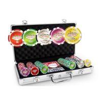 Pokeo - Malette Poker Poker Laser Las Vegas 300 jetons