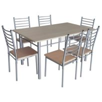 Ensemble table chaises achat ensemble table chaises - Ensemble chaise et table salle a manger ...