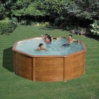 Gré - Gre Pools - Kit piscine ronde en acier Pacific Diam.3,50mx1,20m