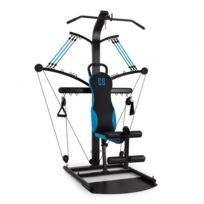 CAPITAL SPORTS - Hawser Appareil fitness câble noir/bleu acier