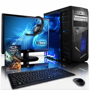 achat vibox vision pack 2l pc gamer ordinateur de bureau amd a4. Black Bedroom Furniture Sets. Home Design Ideas