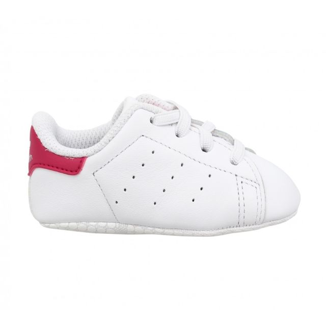 buy best amazing selection purchase cheap Adidas - Stan Smith Crib-21-Blanc Rose - pas cher Achat / Vente ...