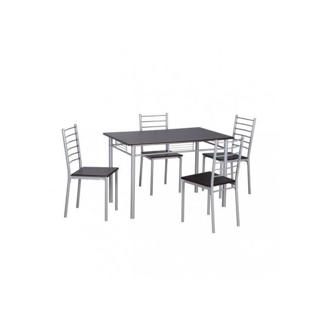 Price Factory Ensemble Table Et Chaises 1 Table Et 4