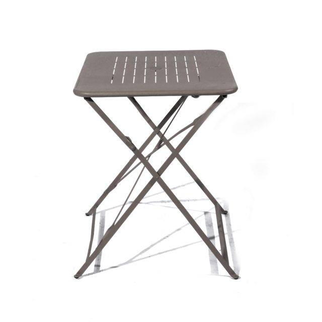 tables pliante acier. Black Bedroom Furniture Sets. Home Design Ideas