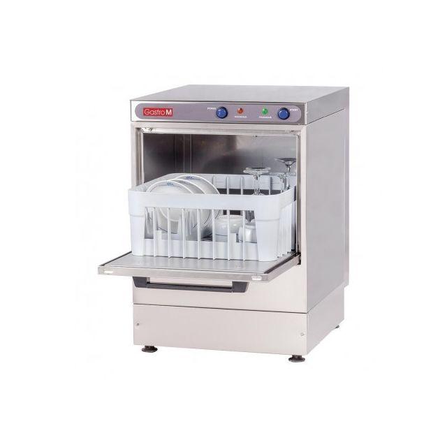 Gastro M Lave verre Professionnel Inox Aisi 304 - 350x350 mm 220V monophase