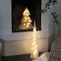 Xmas Living Glass - 3D Tree - Sapin lumineux Led H35cm - Guirlande et objet lumineux designé par