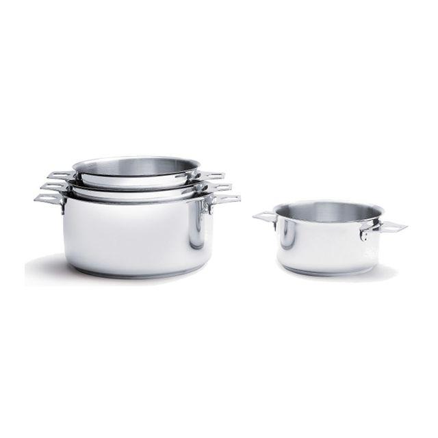 DE BUYER casserole inox 18cm - 3491.18