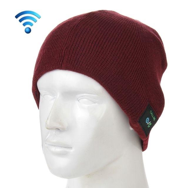 Wewoo - Bonnet Connecté pour garçon et fille et adultes d hiver tricoté  Bluetooth3. 4641c8737ae