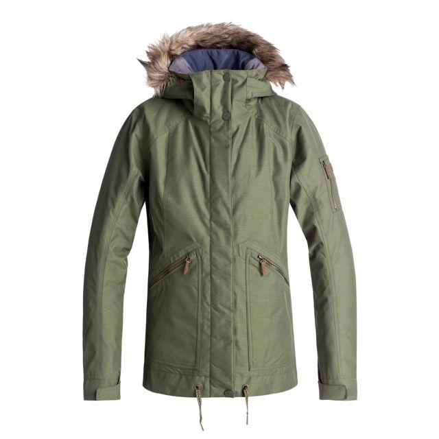 afa5a02433 Roxy - Veste de ski Meade Jk - pas cher Achat / Vente Blouson de ski -  RueDuCommerce