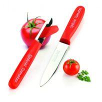 Nogent 3 Etoiles - Set éplucheur et couteau à tomates