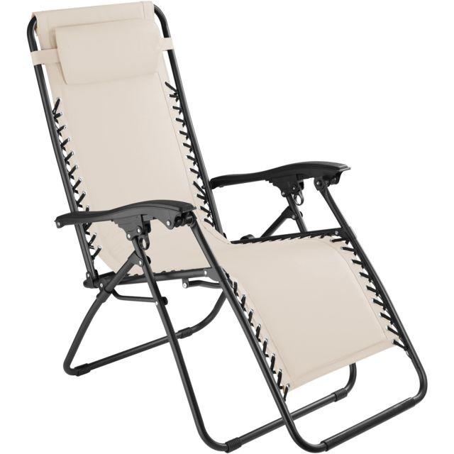 TECTAKE - Chaise Longue de Jardin, Fauteuil de Jardin, Bain de ...