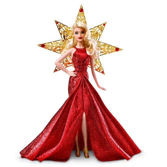 55ce5061002 MATTEL - Barbie Noël doré - DYX39 - pas cher Achat   Vente Poupées ...