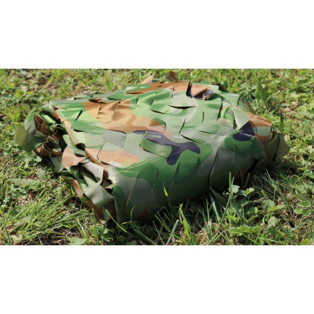 Filet de camouflage Sable /à la d/écoupe non renforc/é 5m x 2,40 /étir/é