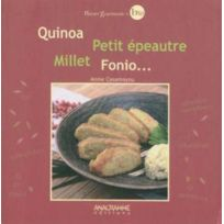 Anagramme - quinoa - petit epeautre - millet - fonio