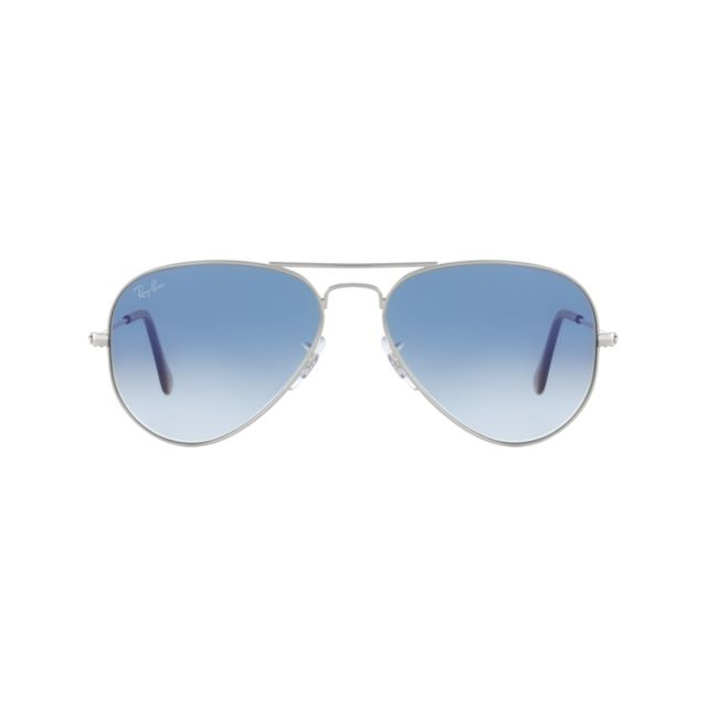 Ray-Ban - Ray Ban - Aviator metal Rb3025 003 3F Argent - Lunettes de ... ea1d02019556