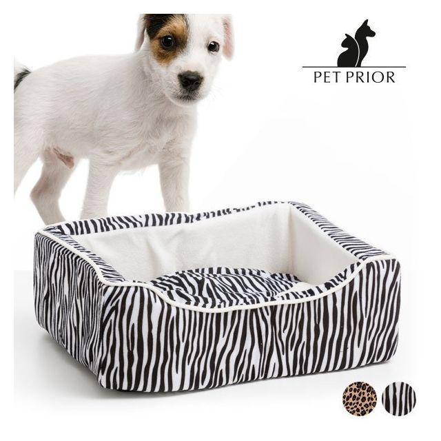 panier de couchage avec coussin d houssable pour chien 45 x 35 cm paniere pour chien design. Black Bedroom Furniture Sets. Home Design Ideas