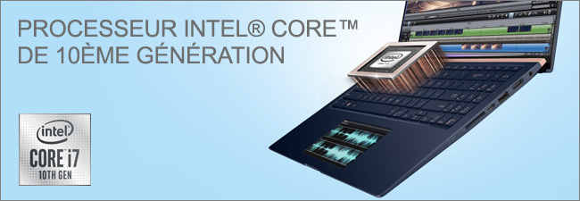 Processeur Intel Core i7 10th