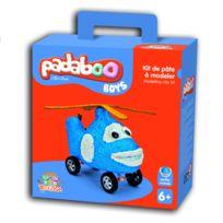 Teo & Zina - Pâte à modeler Padaboo : Kit de pâte à modeler Boys -hélicoptère