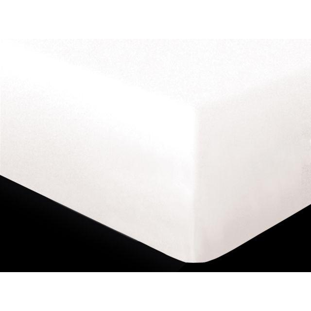soleil d 39 ocre prot ge matelas imperm able 160x200 cm bouclette par pas cher achat vente. Black Bedroom Furniture Sets. Home Design Ideas