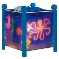 Trousselier - Lampe magique pour enfant en bois et Pvc hauteur 19 cm