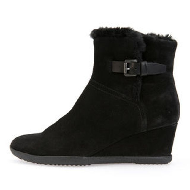 bottines geox femme noir