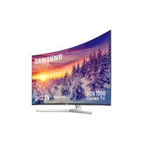 "Samsung - TV LED 65"" 163 cm, incurvée - UE65MU9005T - Gris"