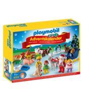 """PLAYMOBIL - Calendrier de l'Avent 1.2.3 """"Noël à la ferme"""" - 9009"""