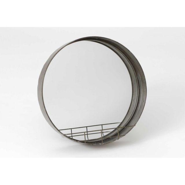Autre Miroir Metal Tablette 53CM