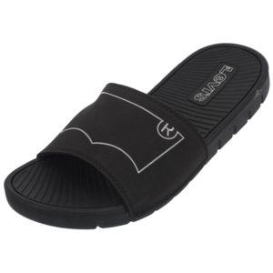 Levi's June claquette noir Noir - Chaussures Mules Homme