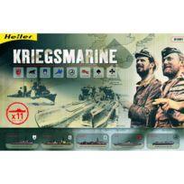 Heller - Maquettes bateaux : Coffret Kriegsmarine