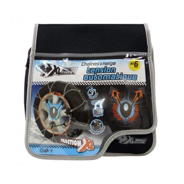 Chaine à neige métallique à tension automatique Xl6