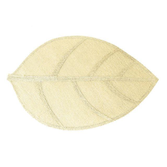 Le Jardin Des Cigales Cdaffaires Set de table 30 x 45 cm fibre papier feuille Naturel