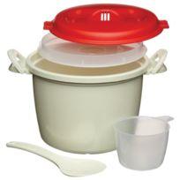 Kitchen Craft - Cuiseur à riz pour micro-ondes 1.5 L