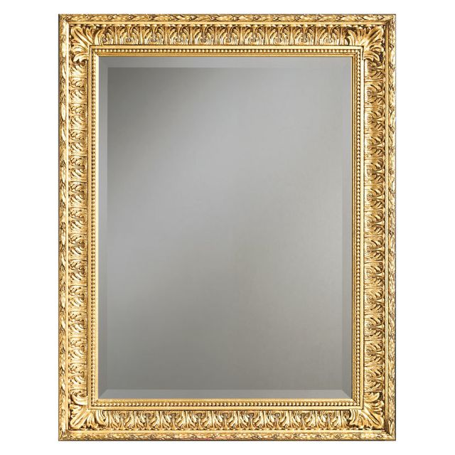 Artigiani veneti riuniti miroir classique la feuille d for Miroir d argent