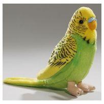 Carl Dick - Vert tendre Toy perruche jaune. 13cm