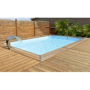 piscine bois spark