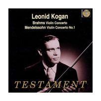 Testament - Brahms / Mendelssohn - Concertos pour violon
