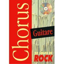 Play Music Publishing - Méthodes Et Pédagogie Devignac Emmanuel - Chorus 20 Solos De Rock + Cd - Guitare Tab Guitare Acoustique
