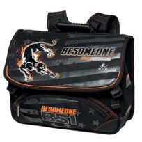 Besomeone - Cartable 2 compartiments 41cm