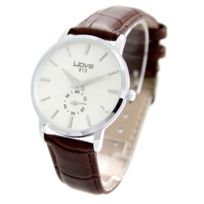 Wave Femme - Montre Femme Cuir Marron Wave 1004